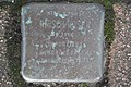 Stolperstein Duisburg 300 Mittelmeiderich Baustraße 34 Hirsch Rosen.jpg