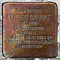 Stolperstein Einsteinufer 10 (Charl) Günter Bannat.jpg