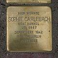 Stolperstein Gaußstraße 16 Sophie Carlebach.jpg