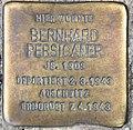Stolperstein Grunewaldstr 44 (Schöb) Bernhard Persicaner.jpg