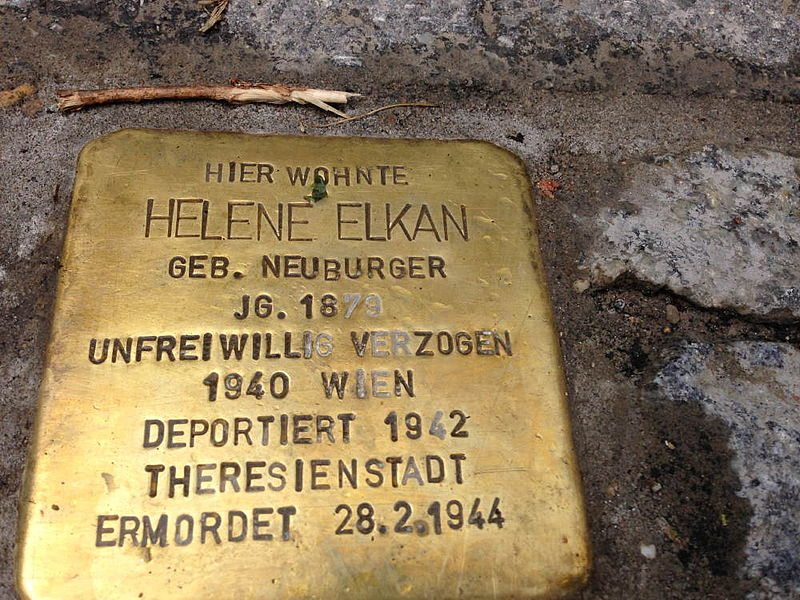 File:Stolperstein Hohenems Helene Elkan.jpg