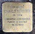 Stolperstein Kantstr 149 (Charl) Charlotte Ritter.jpg