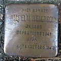 Stolperstein Lingen Kaiserstraße 1 Wilhelm Heilbronn.jpg