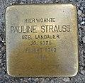 Stolperstein Neu-Ulm Pauline Strauß.jpg