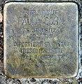 Stolperstein Schrockstr 8 (Zehld) Paula Cohn.jpg
