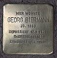 Stolperstein Westfälische Str 28 (Halsee) Georg Biermann.jpg