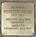 Stolperstein für Ferruccio Ascoli (Ancona).jpg