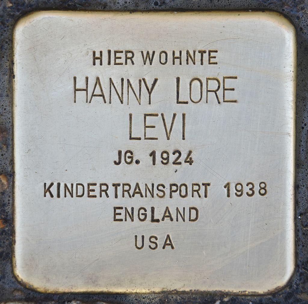 Stolperstein für Hanny Lore Levi.jpg