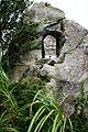 Stone statue at Awagara-goe Pass.jpg
