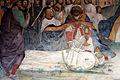 Storie di s. benedetto, 34 sodoma - Come Benedetto fa portare il corpo di Cristo sopra al monaco che la terra non voleva ricevere 03.JPG
