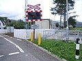 Strathcarron level crossing - geograph.org.uk - 1452627.jpg