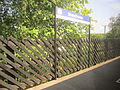 Streethouse railway station sign.JPG