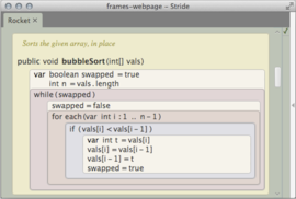 Stride code sample