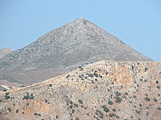 Mount Stroumboulas - Stroumboulas peak from the southeast