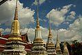 Stupas at Wat Pathumkongka (6491913971).jpg