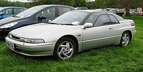 Subaru SVX in parkland in the British West Midlands first registered February 1997 3317cc.JPG
