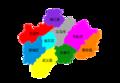 Subdivisions of Jinhua-China.png