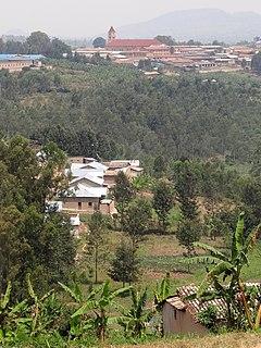 Kabgayi Place in Southern Province, Rwanda