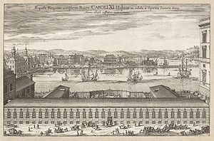 1696 in Sweden - Suecia 1-034 ; Kungliga stallet