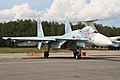 Sukhoi Su-27SM-3 Flanker 57 red (8507408933).jpg