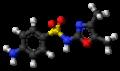Sulfamoxole molecule ball.png