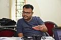 Sumit Surai Talks - West Bengal Wikimedians Strategy Meetup - Kolkata 2017-08-06 1679.JPG