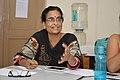 Sumita Roy Dutta Talks - West Bengal Wikimedians Strategy Meetup - Kolkata 2017-08-06 1625.JPG