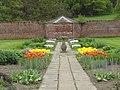 Sundial In Centre Of Rectangular Walled Garden Near Ytv Garden.jpg