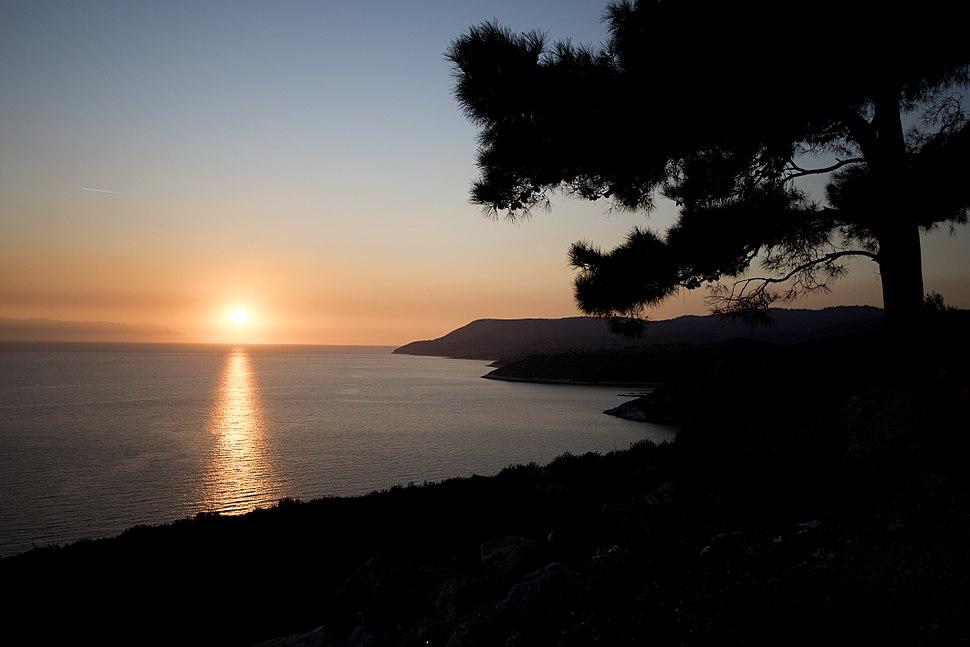 Sunset at Aegean Sea, İzmir 05