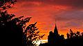 Sunset at Brighstone St Mary's Church.jpg