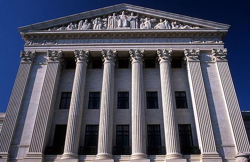 Supreme court east facade