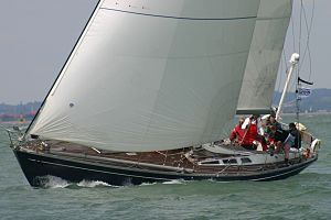 Swan 48 - Swan 48 Snow Wolf GBR7635T at the 2011 Swan Europeans in Cowes (GBR) held by the Royal Yacht Squadron