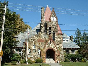 Swansea, Massachusetts - Swansea Town Hall