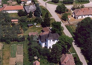 Szamosbecs Place in Northern Great Plain, Hungary
