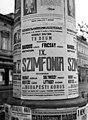 Szegedi Filharmonikus Egyesület koncert, plakát, 1943. Fortepan 72042.jpg