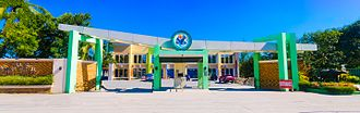 Tarlac Agricultural University - The panoramic view of the Tarlac Agricultural University Facade