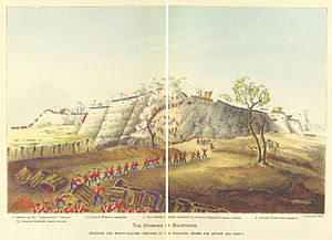 Siege of Bharatpur - The Storming of Bhurtpoor