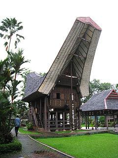 Tongkonan Traditional home of the Torajan people