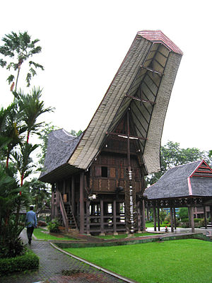 Tongkonan - A Tongkonan in Taman Mini Indonesia Indah, Jakarta.