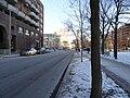 TTC bus 7793 proceeding west on the Esplanade, 2015 01 13 (5) (16093476590).jpg