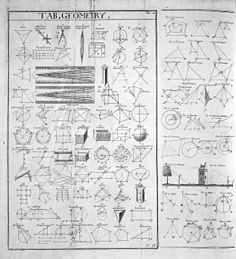 354da8c7ef (Table of Geometry) from the 1728 Cyclopaedia.