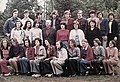 Tableau, colorful, class photo, teacher Fortepan 12400.jpg
