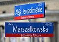Tablica MSI Aleje Jerozolimskie róg Marszałkowskiej.JPG