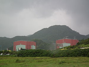 Nuclear power in Taiwan - Kuosheng Nuclear Power Plant in Wanli, New Taipei.