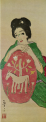 TakehisaYumeji-1913-A Woman with Blue Clothes(detail).png