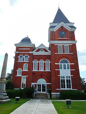Talbot County Courthouse in Talbotton
