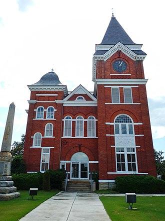 Talbotton, Georgia - Image: Talbot County, GA Courthouse