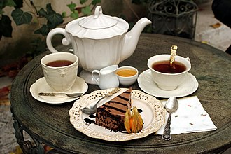 Tea for Two (song) - Tea service for two people