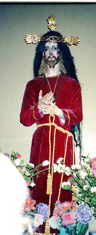 San Juan Teitipac - Image: Teitipac Christ