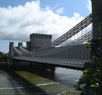 Conwy Suspension Bridge - Conwy Suspension Bridge